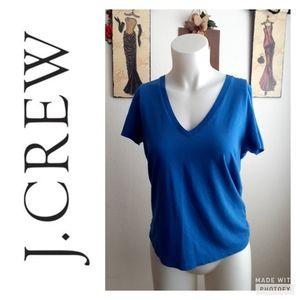 Blue J crew T shirt size small..